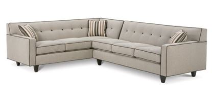 Picture of Dorset Chrome Sectional