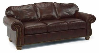 Bexley Leather Sofa with Nails