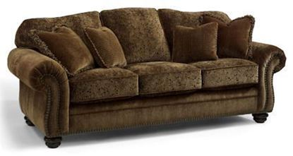 Bexley Melange Sofa with nails