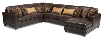Picture of Port Royal Leather Sectional Model 1373