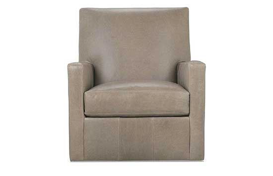 Carlyn Leather Swivel Chair