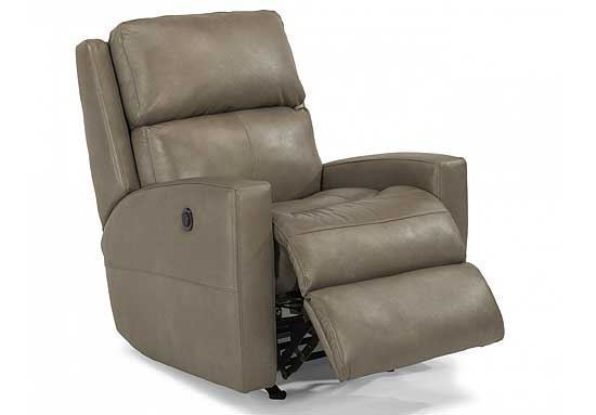 Catalina Power Leather Recliner