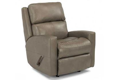 Catalina Swivel Leather Gliding Recliner