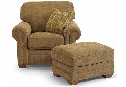 Harrison Chair & Ottoman